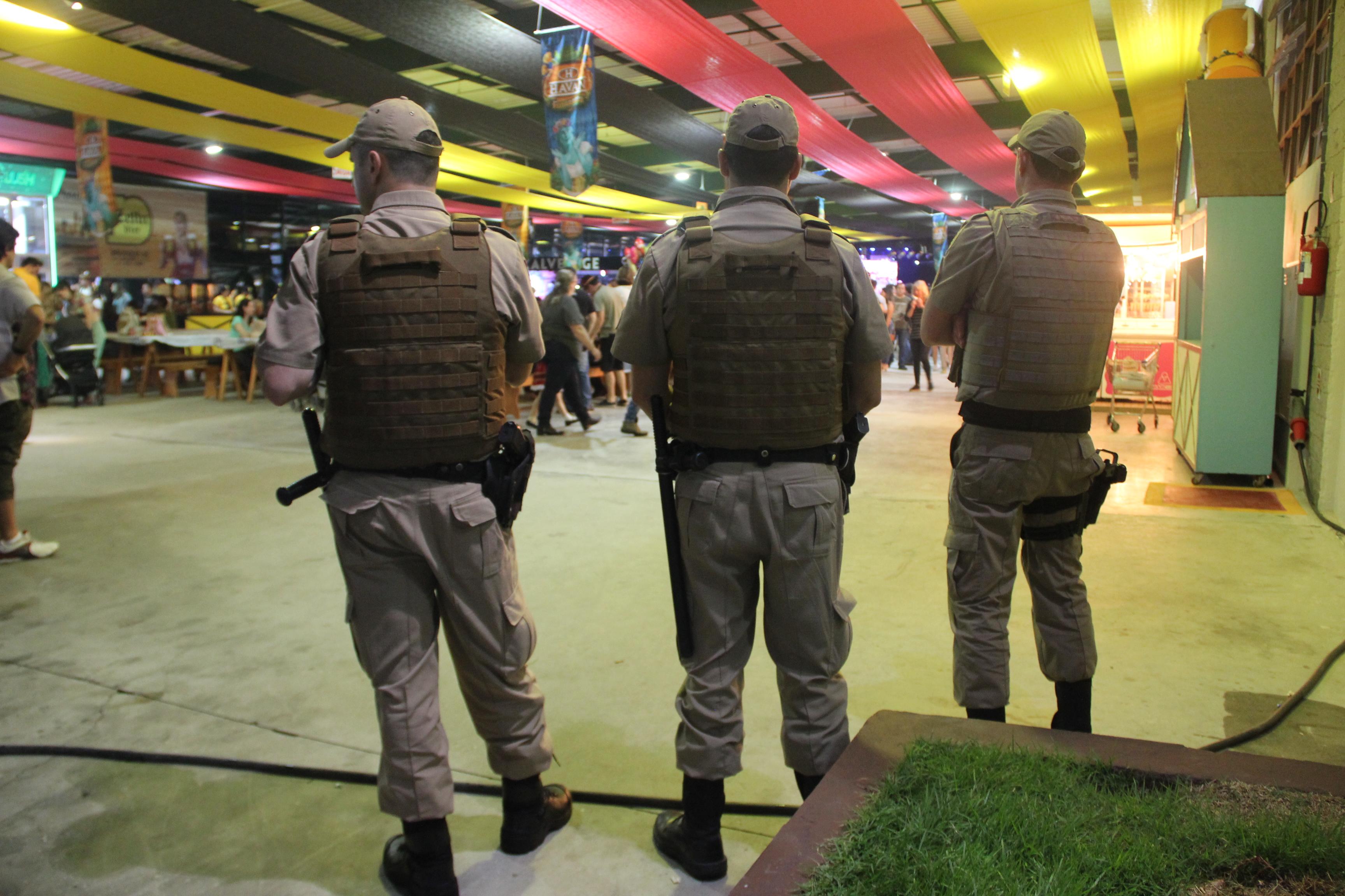 Segurança foi uma das marcas da 34ª edição da Fenarreco